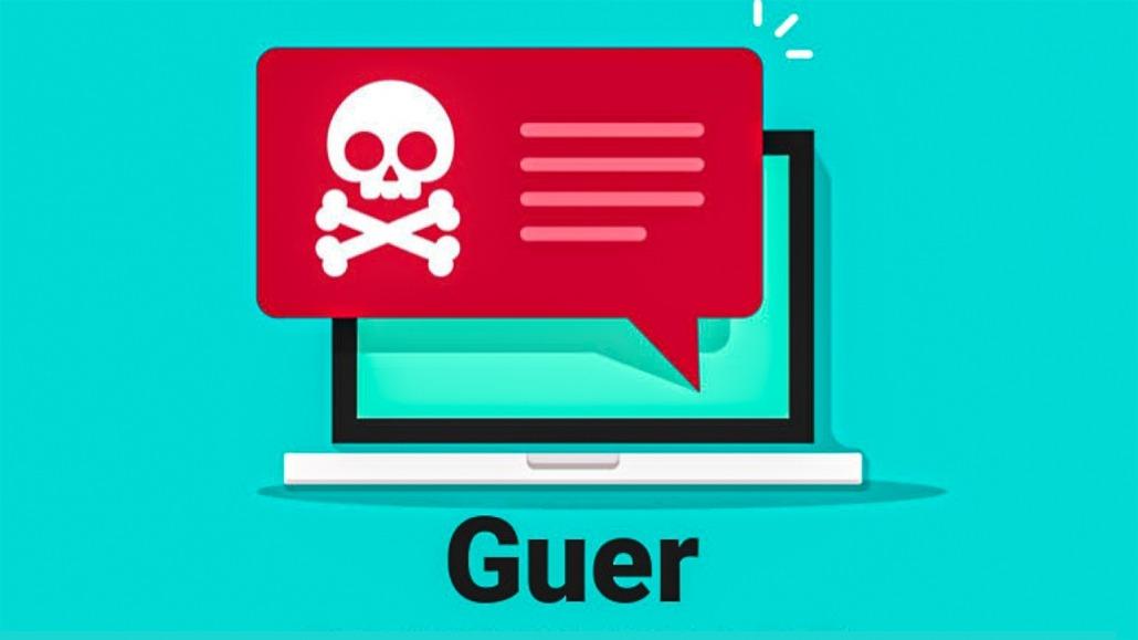 رفع مشکل باج افزار guer ransomware virus